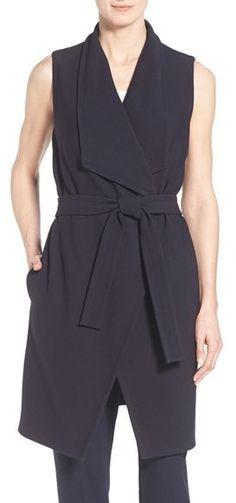 d0b39c6166 BOSS  Kalimi  Tie Waist Sleeveless Tunic Dress available at