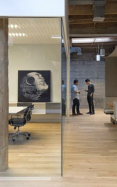 "9 | A ""Star Wars""-Inspired Office In The Heart Of Silicon Valley 