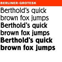 Erik Spiekermann Berliner (Typography)