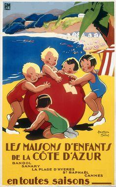 ✨ Beatrice Mallet - Les Maisons d'Enfants de la Côte d'Azur, 1936