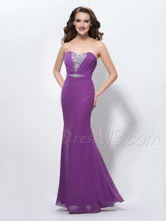 Charming Mermaid/Trumpet Sweetheart Neckline Sequins Prom Dress
