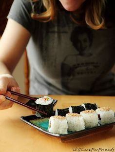 Will Cook For Friends: Sushi 101 - Ready, Set, Roll! Everything you need to know about making sushi at home - can it really be this easy?