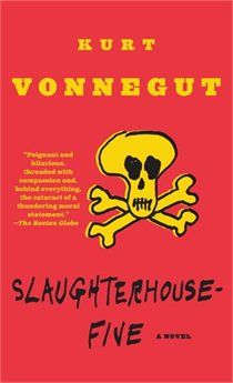 Slaughterhouse-Five by Kurt Vonnegut: Don't just read it once. A satirical anti-war novel, infused with science fiction. Funny, thought provoking, and truly relevant. Kurt Vonnegut, Used Books, Books To Read, My Books, Film Books, Library Books, Audio Books, New York Times, Science Fiction