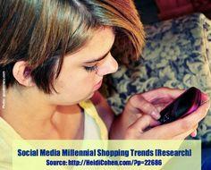 [Millennial Shopping Trends + Social}
