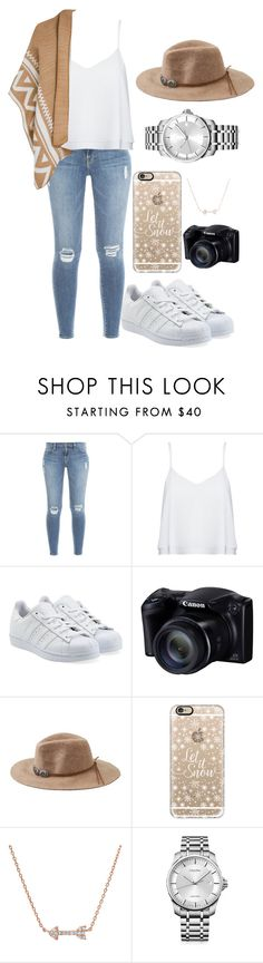 glamour xo by larnyssxo on Polyvore featuring beauty, Casetify, American Eagle Outfitters, Calvin Klein, Alice + Olivia, Frame Denim and adidas Originals