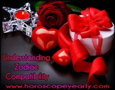 Zodiac compatibility creates the reports that based on zodiac signs meanings that permit a person to take a good look at the different angle of their life that includes their family, friends, colleagues and partners. The zodiac compatibility are created base on the individuals horoscopes signs that help the psychic medium to find out how two people with different personality and characters get along with each other. Read More: http://www.horoscopeyearly.com/understanding-zodiac-compatibility...