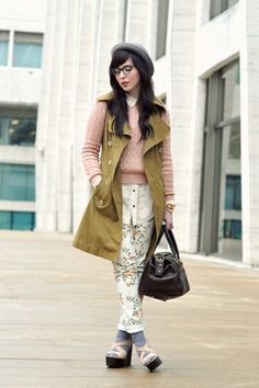 awesome outfit. also, i have those glasses and they are the best glasses EVER!