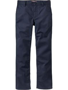 He'll craft a signature new outfit with cool and comfortable boys' pants from Old Navy. Shop a range of stylish pants for boys. School Uniform Pants, School Uniform Fashion, Fashion 2017, Boy Fashion, Private School Uniforms, New Outfits, Kids Outfits, Kids Clothes Boys, Kids Clothing