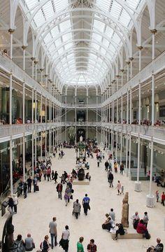 National Museums Scotland, Edinburgh.  #RePin by AT Social Media Marketing - Pinterest Marketing Specialists ATSocialMedia.co.uk