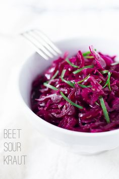 Easy Beet Sourkraut