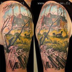 This is a gorgeous Pink Floyd tattoo!!! :) :) :)