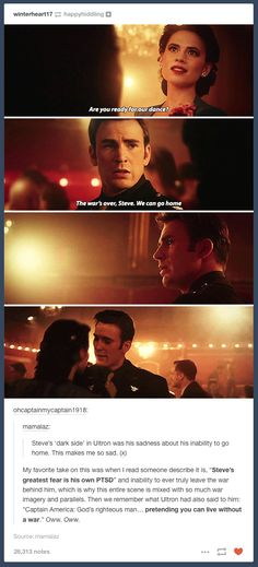 Soooo many feels. This scene broke my heart. His face in the last picture just shattered it again