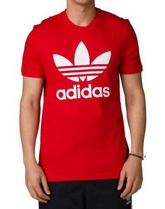 #FashionVault #adidas #Men #Tops - Check this : adidas MENS Red Clothing / Tops for $19.99 USD