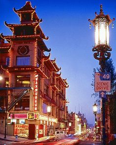 (I love the shape of this building!)   Chinatown, San Francisco, CA - The Year of the (Wood) Sheep started Feb. 19, 2015 and ends Feb. 7, 2016, Gregorian calendar. Do you know what your Chinese Zodiac sign is??