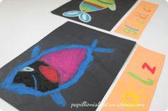 """""""Heute bin ich"""" im Kunstunterricht der Grundschule"""