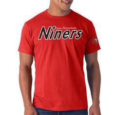 ccadc6f22 NFL  47 Brand San Francisco 49ers Albright Fieldhouse Premium T-Shirt -  Scarlet Nfl