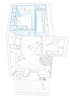 Magnificent Attic remodel master bedroom,Attic bathroom with clawfoot tub and Minimum attic renovation. Attic Library, Attic Playroom, Attic Loft, Attic House, Attic Office, Tiny House, Mini Loft, Attic Apartment, Apartment Plans