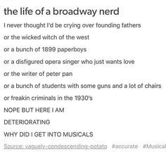 Image result for Musical Theater Humor