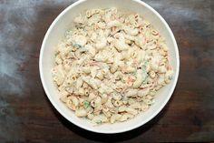Hawaiian Macaroni Salad with