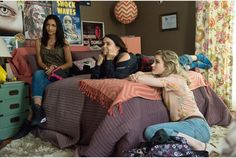 The DUFF - Publicity still of Mae Whitman, Skyler Samuels & Bianca A Santos. The image measures 3000 * 2002 pixels and was added on 30 June Mae Whitman, The Duff Movie, Under The Same Moon, Fat Friend, The Guernsey Literary, New Teen, Ikea Bed, Movie Memes, Dorm Life