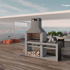 The Joys of a Family Barbecue Outdoor Fire, Outdoor Living, Outdoor Decor, Parrilla Exterior, Bbq Stand, Refractory Brick, Built In Braai, Bbq Places, Barbecue Design