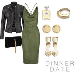 DINNER DATE by savanah-herbert on Polyvore featuring polyvore, fashion, style, Rare London, maurices, Jimmy Choo, Yves Saint Laurent, Marc by Marc Jacobs and Chanel