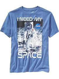 Boys NASA™ Tees