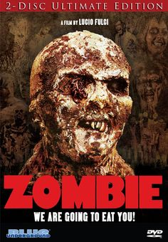 Zombie: An abandoned yacht sails into New York harbor…with a zombie on board! Police officers manage to take out the reanimated corpse, but idiotically bring a bitten officer to the city morgue. Most of the movie takes place on a tropical island as the daughter of the yacht owner goes to track down her father, but the bookends of the movie are set in Manhattan.