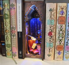 the Throne Room Diorama Fairy Doors, Book Nooks, Fairy Houses, Small World, Pick Up, Shadow Box, Bookends, Book Art, Steampunk