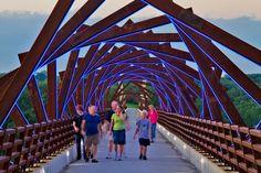 High Trestle Trail Bridge Raccoon River Valley Trail Madrid Iowa