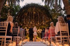 "Annah & David saying ""I DO"" in the Primrose Courtyard at The Wynn Las Vegas.  www.paulinacluteevents.com"