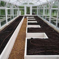 Backyard Greenhouse, Greenhouse Plans, Backyard Landscaping, Veg Garden, Vegetable Garden Design, Garden Beds, Garden Path, Easy Garden, Vegetable Gardening