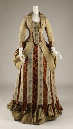 Dress ca. 1875-1877