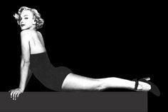 1948: Marilyn Monroe iconic images (vintage yoga photo) .... #marilynmonroe…