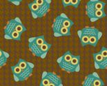 Woodland Owls Allover by saraink