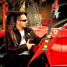Zoltan Bathory - of Five Finger Death Punch - AR-6 Rosso Corsa