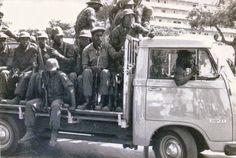 Militares da FNLA, em Julho/Julho de 1975 (foto de Carlos Letras).