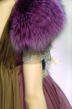 Christian Lacroix Haute Couture -Oh the fur!