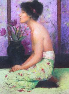 Judy Drew pastel | Drew, Judy. 1951-. Australia [ Return to home page for this artist ]