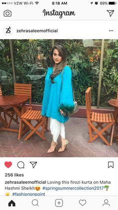 Zehra Saleem Pakistani Dresses, Indian Dresses, Indian Fashion, Women's Fashion, Lit Outfits, Indian Couture, Western Outfits, Kurtis, Designer Wear