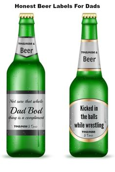 Honest Beer Labels f