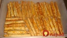 Mega chutné cuketové tyčinky: Ostatné recepty na domáce tyčinky ruším, na tieto chrumkáče sa nechytajú! Raw Vegan, Finger Foods, Ham, Zucchini, Buffet, Tofu, Good Food, Food And Drink, Cooking Recipes