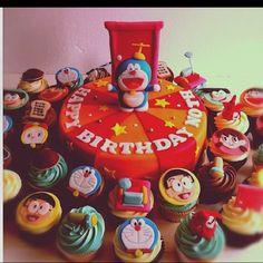 Doraemon and friends!!
