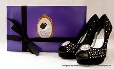 Or these Awesome Evil Queen Pumps | 33 Subtle Ways To Add Your Love Of Disney To Your Wedding