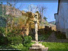 SANTUARIO DO CONFORTO - A PONTENOVA - LUGO - YouTube A Pontenova, Arch, Outdoor Structures, Garden, Youtube, Plants, Creature Comforts, Santa Maria, Town Hall