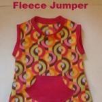Free pattern: Little girl's fleece jumper tunic