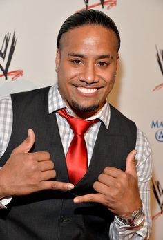 Jimmy Uso Photos: Arrivals at WWE's 'Superstars for Hope' Event — Part 2