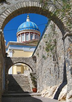 ο Άγιος Νικόλαος  Syros  Greece