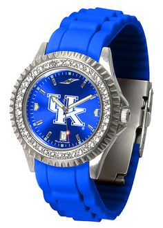 Kentucky Wildcats Sparkle Watch With Color Band – Cooler Time