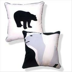 Animal Instinct Totally Polar Bear Pillow  $45.99